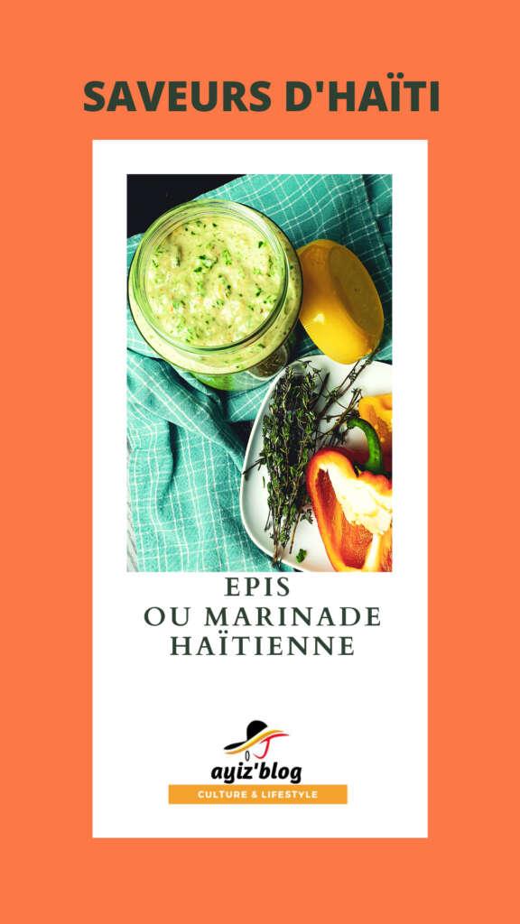Epis ou Marinade haitienne 576x1024 Ma recette d epis ou marinade haïtienne